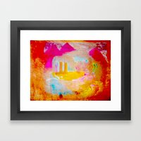 Iahad Framed Art Print