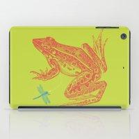 Frog vs. Dragonfly iPad Case