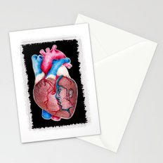 1 HEART 4 2 Stationery Cards