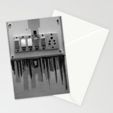 Switch On skyscrapers Stationery Cards