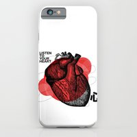 Listen to your heart iPhone 6 Slim Case