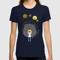 Where Are The Wild Thing… Womens Fitted Tee Navy SMALL