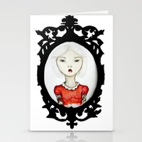 Just a portrait Stationery Cards