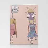 Bot Love. Stationery Cards