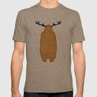 Laurence Moose Mens Fitted Tee Tri-Coffee SMALL