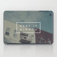 Keep It Simple iPad Case