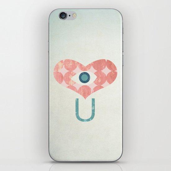 I Heart You iPhone & iPod Skin