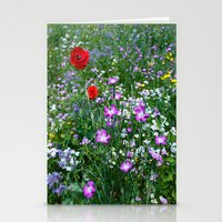 Wild Flower Meadow Stationery Cards