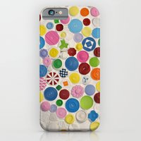 iPhone & iPod Case featuring Button Box by Project M