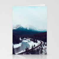 Canadian Rocky Mountains… Stationery Cards
