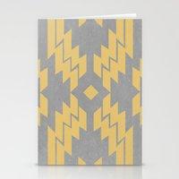 Concrete & Aztec Stationery Cards