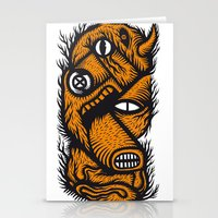 Le mangeur - the print! Stationery Cards