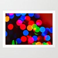 Festive Sparkle Art Print