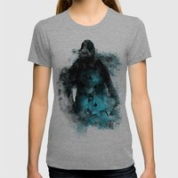 Abstract BANE Womens Fitted Tee Tri-Grey SMALL