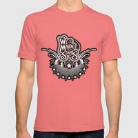 We Are All Made Of Stars Mens Fitted Tee Pomegranate SMALL