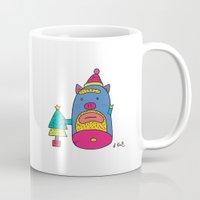 Santa Pig Mug