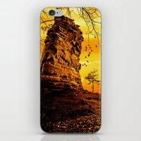 Golden Nature iPhone & iPod Skin