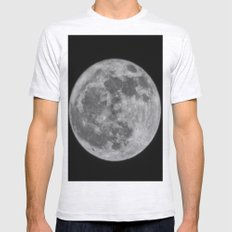 full moon Mens Fitted Tee Ash Grey SMALL