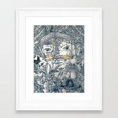 :O)  Framed Art Print