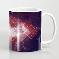 Shining Nebula - Red Mug