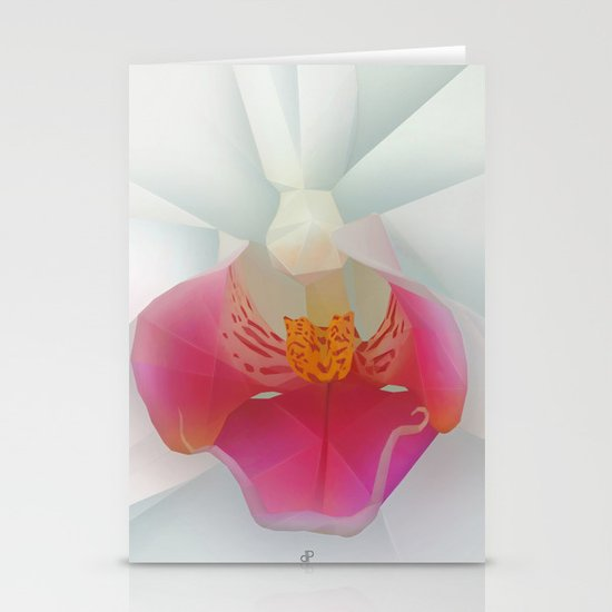 Orchid Stationery Card