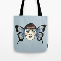 butterfly lady. Tote Bag