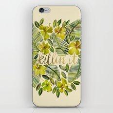 Killin' It – Tropical Yellow iPhone & iPod Skin
