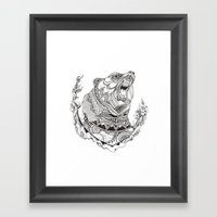 Spirit Bear Framed Art Print