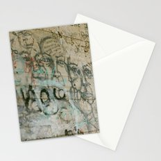 walk dell amour Stationery Cards