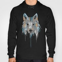Painted Wolf Hoody