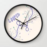 Looped Wall Clock