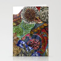 Psychedelic Botanical 3 Stationery Cards