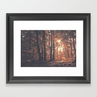 Precious Autumn Framed Art Print