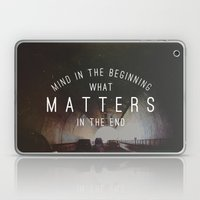 Mind What Matters Laptop & iPad Skin