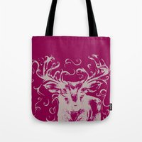 Deer Color Tote Bag