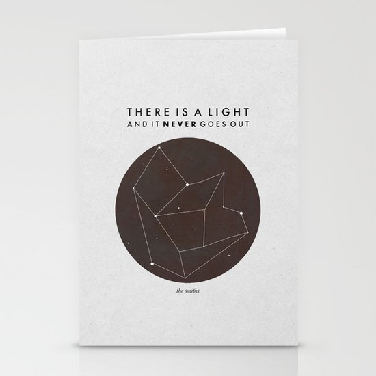 There Is A Light Stationery Card