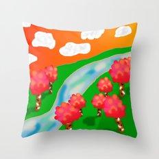Wonder Land Throw Pillow