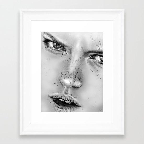+ NO LOVE ALLOWED + Framed Art Print