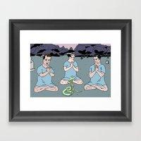 COBRADRELLA- Faux Espoir… Framed Art Print