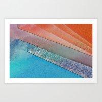 Morning Colors Art Print