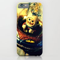 A Flying Saucer Christmas iPhone 6 Slim Case