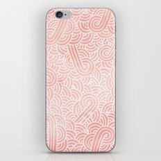 Rose Quartz And White Ze… iPhone & iPod Skin