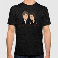 Rizzo & Kenickie / Greas… Mens Fitted Tee Tri-Black SMALL