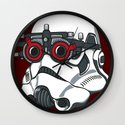 Stormtrooper Eyetest Wall Clock