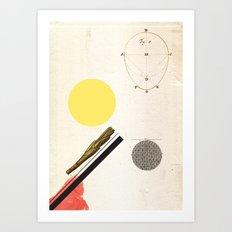 Ratios. Art Print
