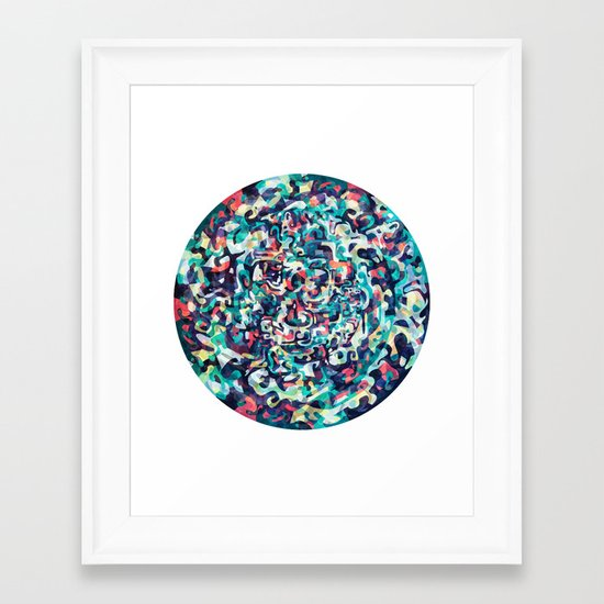 I Love Everything About You Framed Art Print