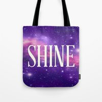 Shine Galaxy  Tote Bag
