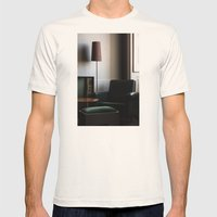 mercado negro Mens Fitted Tee Natural SMALL
