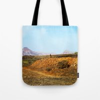 Stones And Mountains Tote Bag