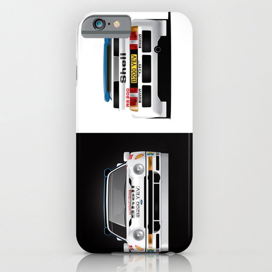 Group B Edition, N.º4, Ford RS200 iPhone & iPod Case